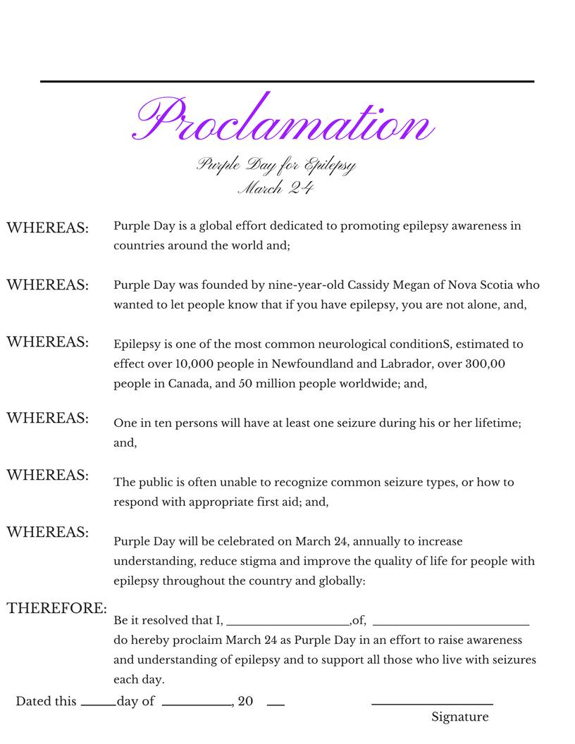 proclamation 24 2017